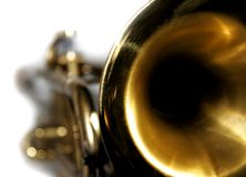 Trumpet closeup Stock Photography