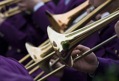 Trumpet Concert Stock Photography