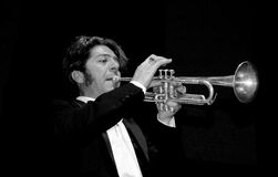 Trumpet Extrodinare 2 Royalty Free Stock Photography