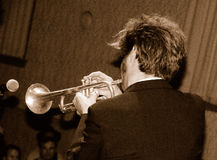 Trumpet Extrodinare 4 Royalty Free Stock Photography