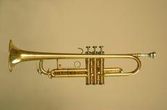Trumpet gold Stock Photos