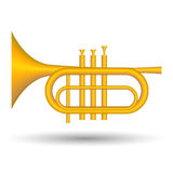 Trumpet icon Royalty Free Stock Photography