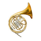 Trumpet isolated Stock Photography