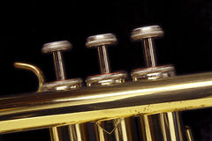 Trumpet Keys Royalty Free Stock Photography