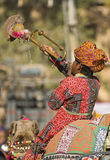 Trumpet Man Royalty Free Stock Photos
