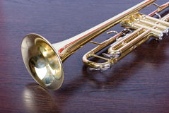 Trumpet music instrument Stock Photography