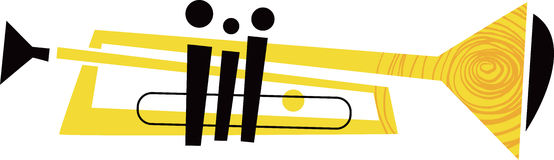 Trumpet Musical Instrument Stock Photos