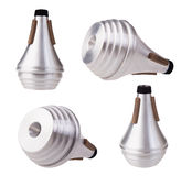 Trumpet mute Stock Photography