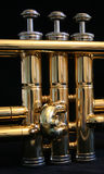 Trumpet Parts Royalty Free Stock Images
