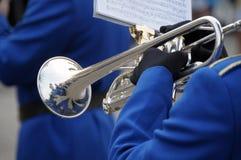 Trumpet player Royalty Free Stock Photos