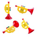 Trumpet toy Royalty Free Stock Photography