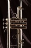 Trumpet valves royalty free stock photo