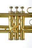 Trumpet valves Stock Photo