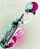 Trumpet vector illustration Stock Photos
