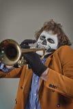 Trumpet Virtuoso Stock Photo