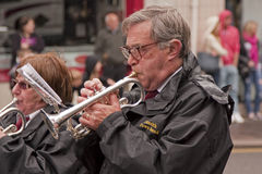 trumpetare Royaltyfri Bild