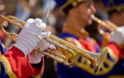 trumpetarear royaltyfri bild