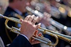 trumpetarear Arkivbilder
