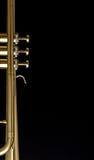 Trumpetbakgrund Arkivfoto