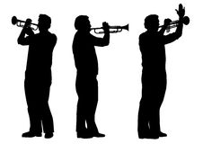 Trumpeter Royalty Free Stock Photography