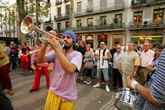Trumpeter of music troop