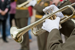 Trumpeters Stock Photos