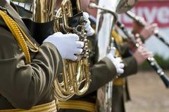 Trumpeters Stock Photos