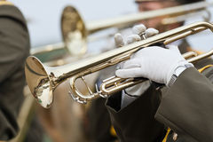Trumpeters Stock Photo