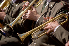 Free Trumpeters Royalty Free Stock Images - 5461739