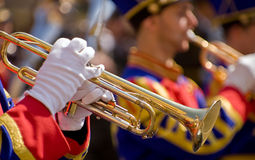 Trumpeters Royalty Free Stock Image