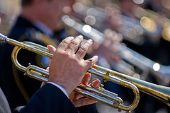 Trumpeters Stock Images