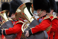 Trumpeters of the Royal Guard Stock Image