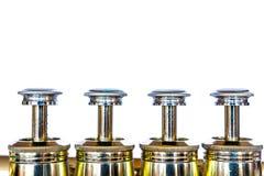Trumpetpistonger Arkivbild