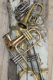 Trumpets Royalty Free Stock Photography