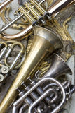Trumpets Stock Photography