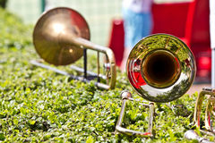 Trumpets Royalty Free Stock Image