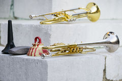 Trumpets Stock Images