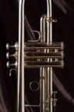 trumpetventiler royaltyfri foto