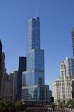 Trumpf-Hotel Chicago Stockbild