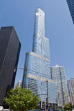 Trumpf-Kontrollturm in Chicago Stockbild