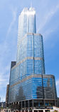 Trumpf-Kontrollturm in Chicago Lizenzfreies Stockfoto