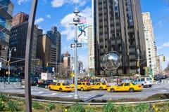 Trumpf-Kontrollturm des Columbus-Kreis-NYC Stockbild