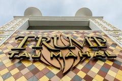 Trumpf Taj Mahal Stockbilder
