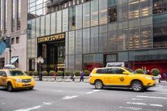 Trumpf-Turm-fünfte Allee NYC Lizenzfreie Stockbilder