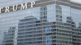 Trumpf-Turm-Hotel in Chicago - CHICAGO, USA - 12. JUNI 2019 stock video footage