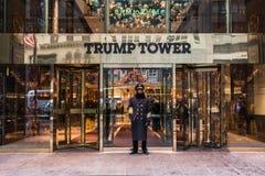 Trumpf-Turm in New York Lizenzfreies Stockfoto