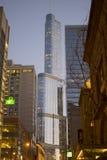 Trumpfwolkenkratzer von fern, Chicago, USA Lizenzfreie Stockfotografie