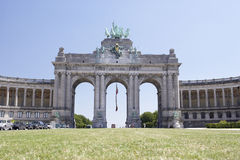 Trumphal Arch,Brussels,Belgium Royalty Free Stock Photo