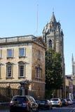 Trumpington-Straße, Cambridge, England Lizenzfreies Stockbild