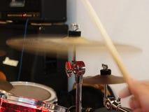 Trumpinnecymbal som vibrerar Arkivfoto